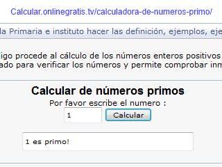 calcular numeros primos